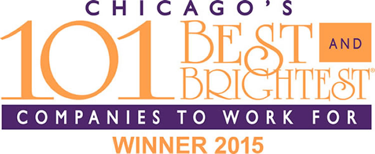 Chicago 101 best and brightest award