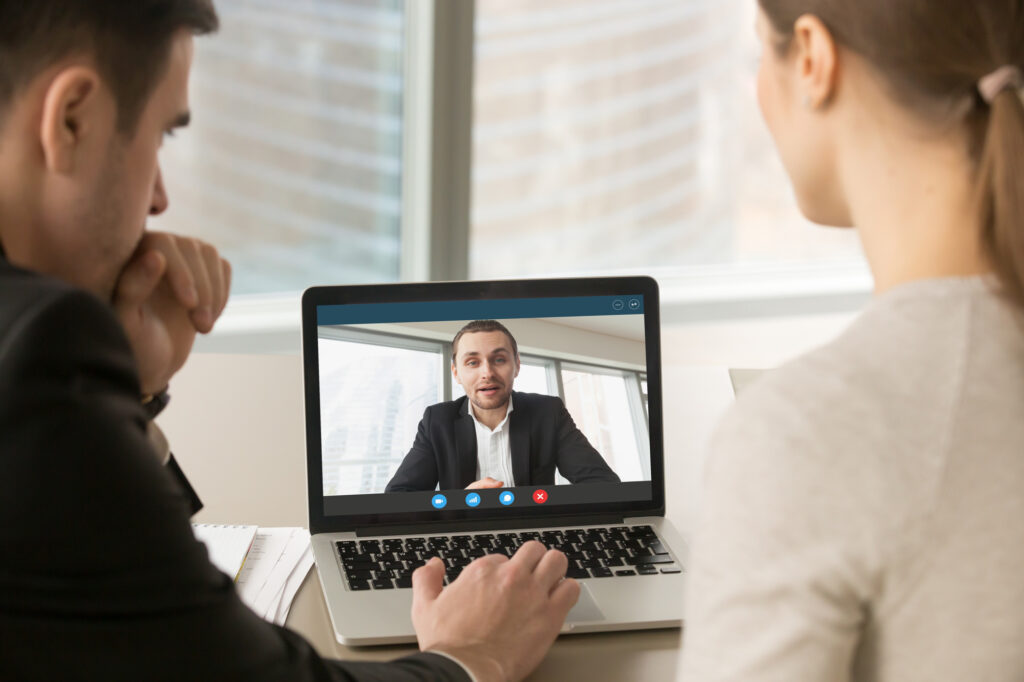Selling techniques for video calls.