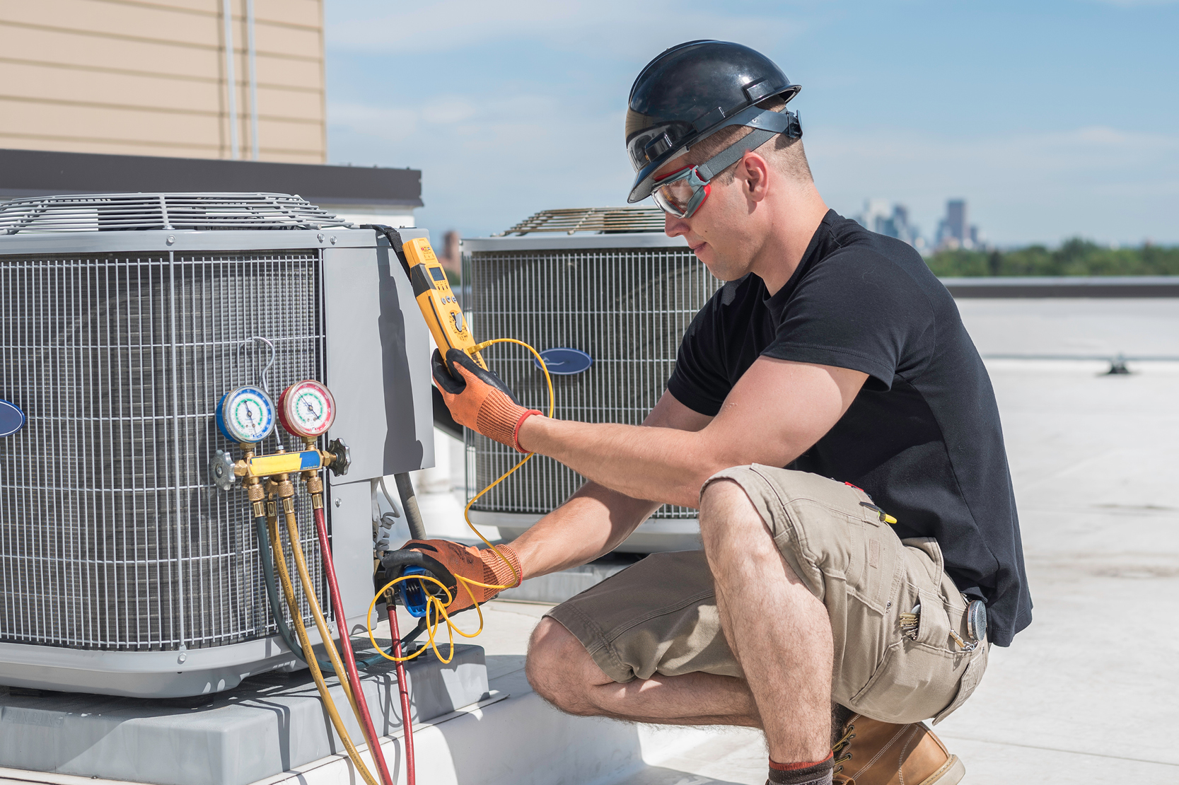 sales-i HVAC sector users buck the national trend.