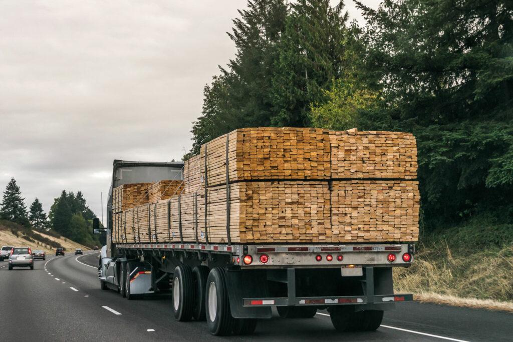 U.S. Lumber distribution
